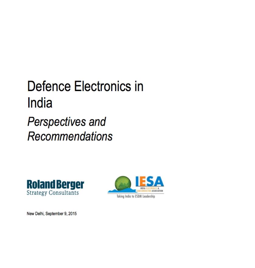 IESA-RolandBerger-DefenseElectronicsReport2015